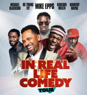 In Real Life Comedy Tour | Tickets