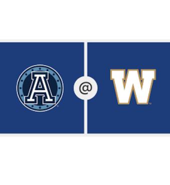 Toronto Argonauts vs. Winnipeg Blue Bombers   Tickets