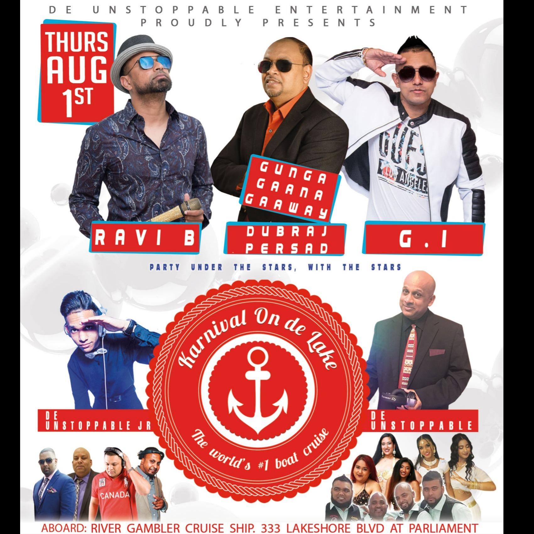 Karnival On De Lake Boat Cruise