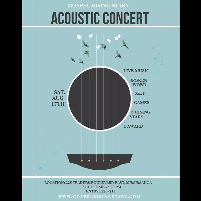 Gospel Rising Stars - Acoustic Concert