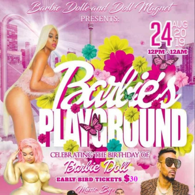 Barbie's Playground - Day Party