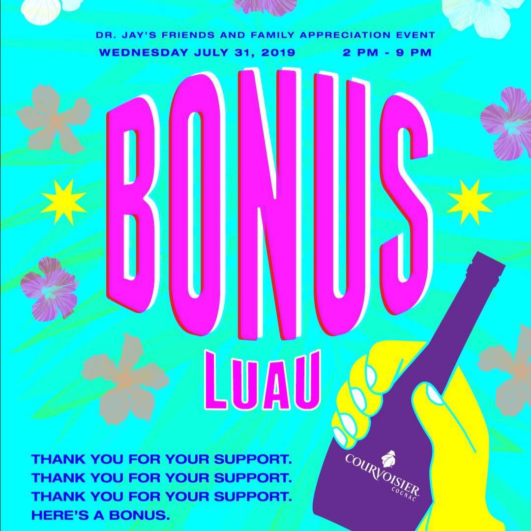 Bonus Luau Caribana Wednesday