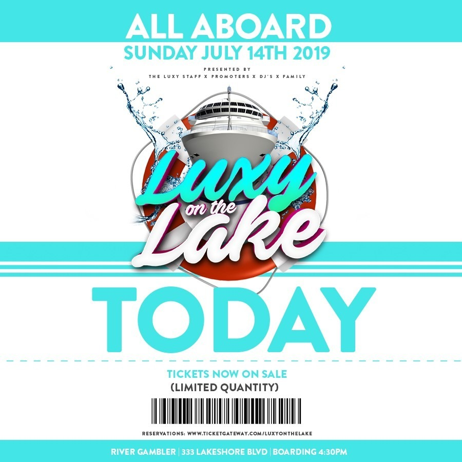 Luxy On The Lake | Annual Boat Cruise