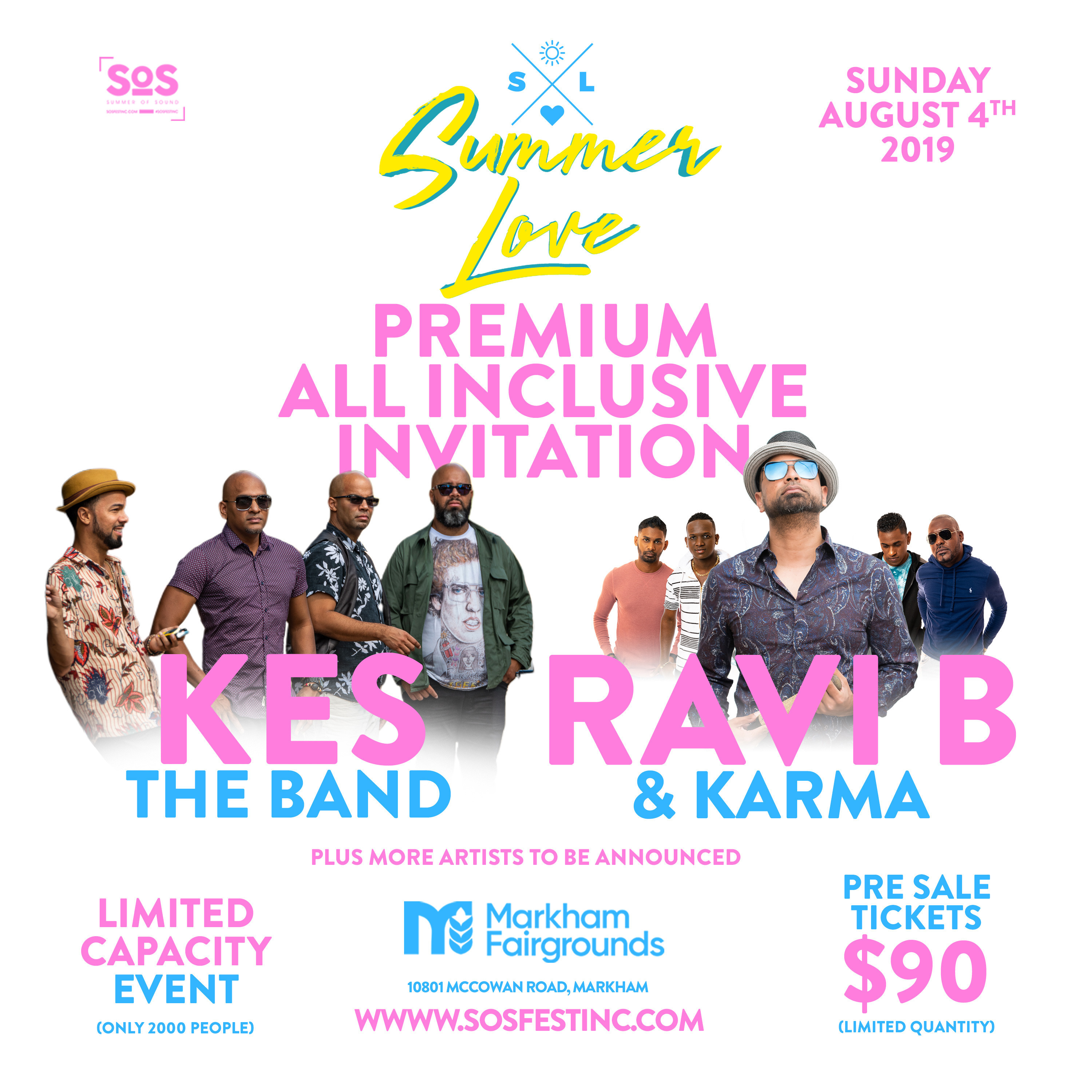 SUMMER LOVE   A PREMIUM ALL INCLUSIVE CONCERT EVENT W/ KES THE BAND & MORE