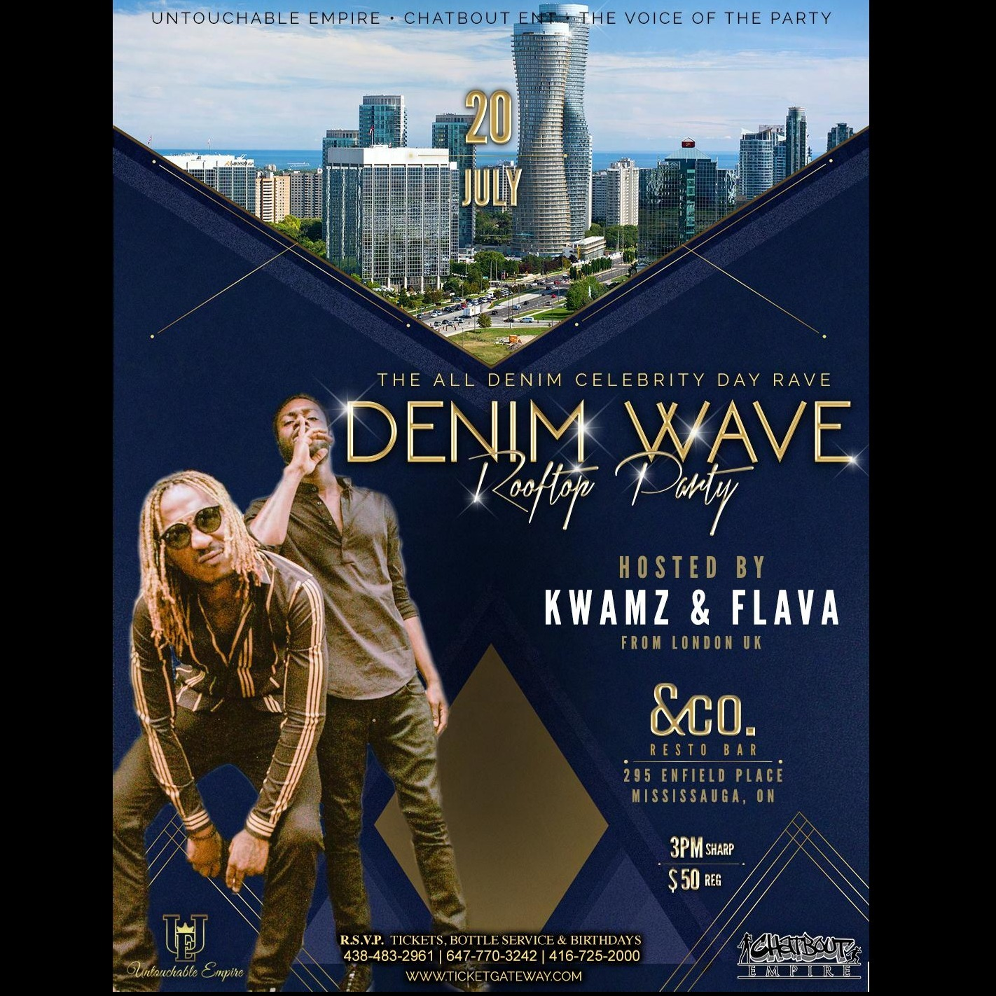 THE ALL DENIM CELEBRITY DAY RAVE ( DENIM WAVE )