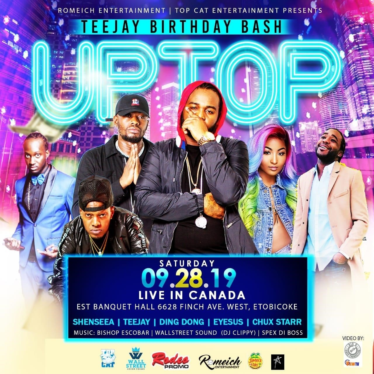 TEEJAY Birthday Bash - UPTOP