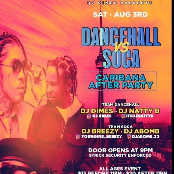 DANCEHALL VS SOCA - CARIBANA AFTER PARTY 2019
