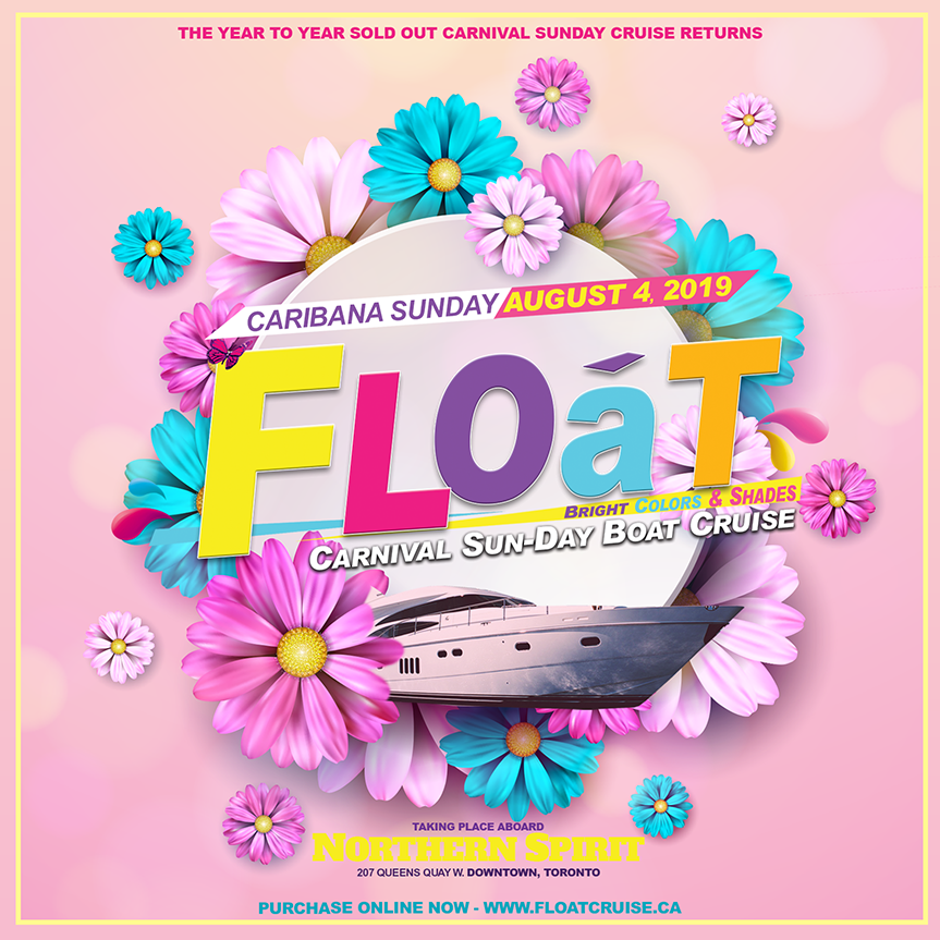 Float - Caribana Sunday Boat Cruise