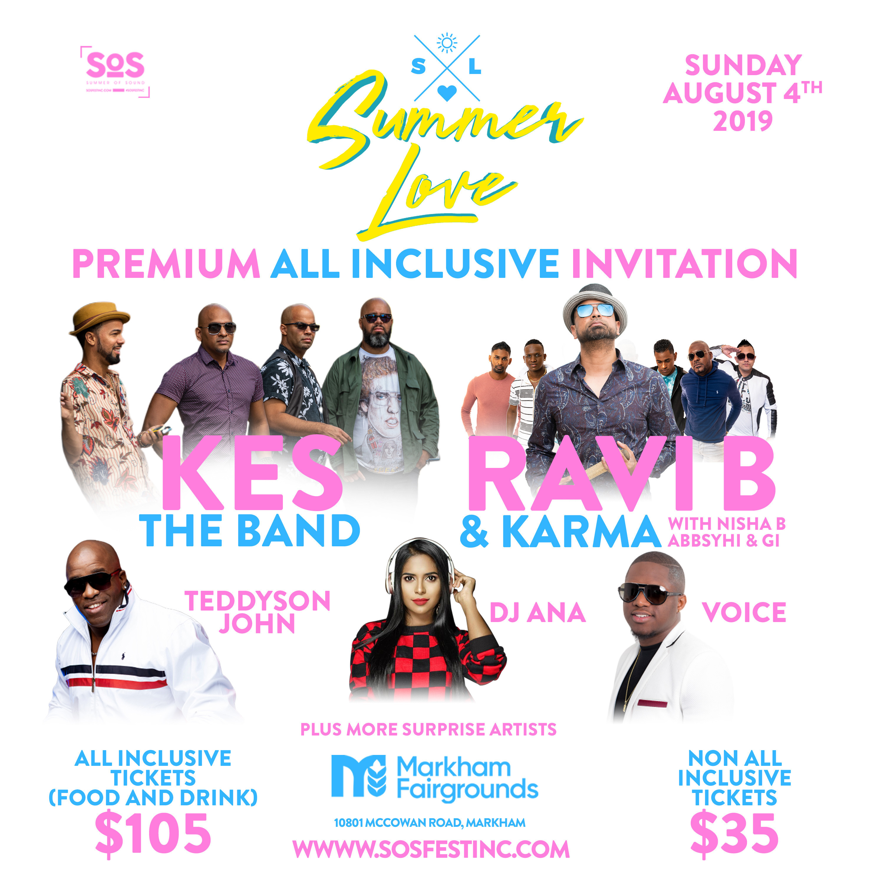 SUMMER LOVE | A PREMIUM ALL INCLUSIVE CONCERT EVENT W/ KES THE BAND & MORE