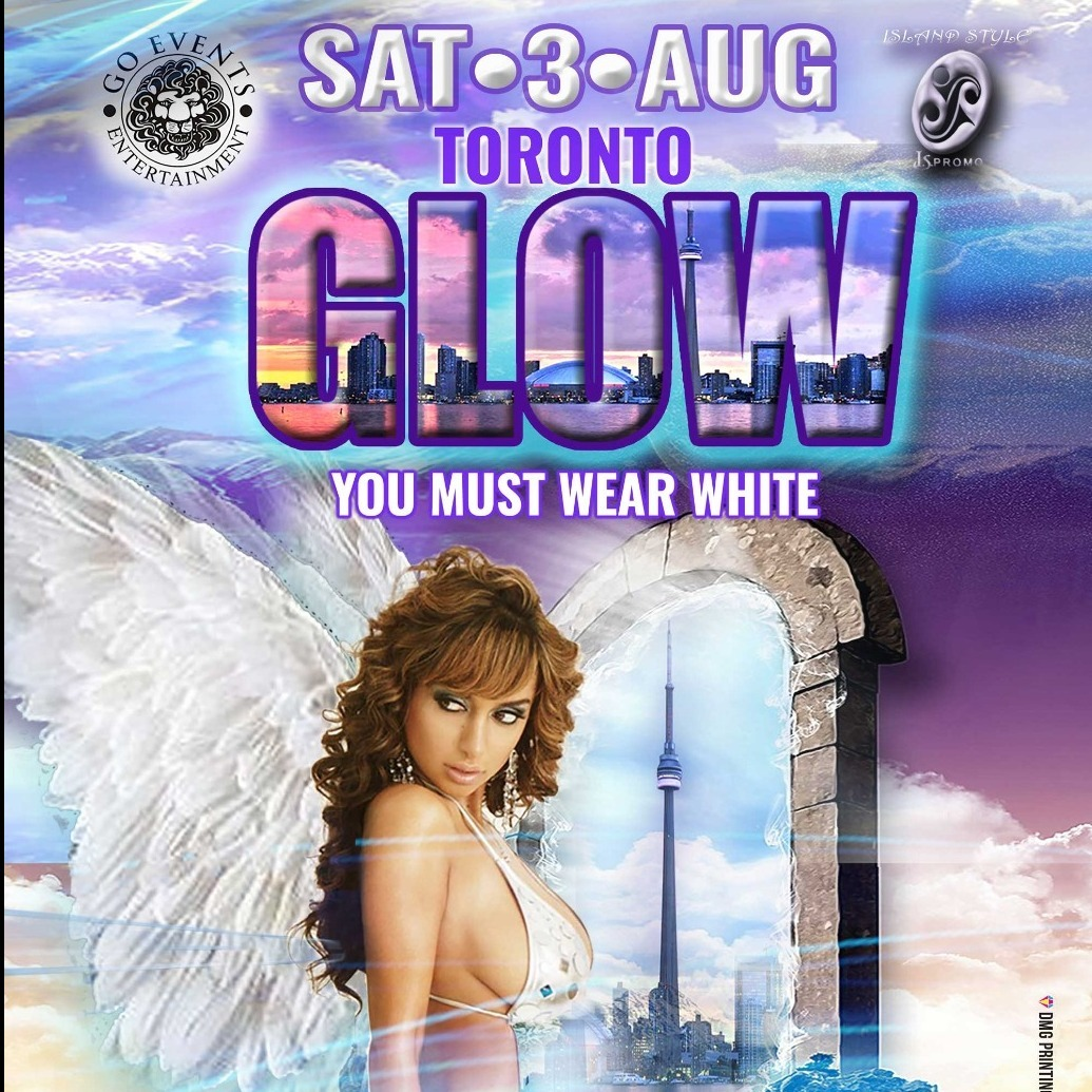 GLOW TORONTO - YOU MUST WEAR ALL WHITE