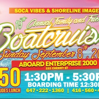 19th Annual Family And Friends - Boat Cruise