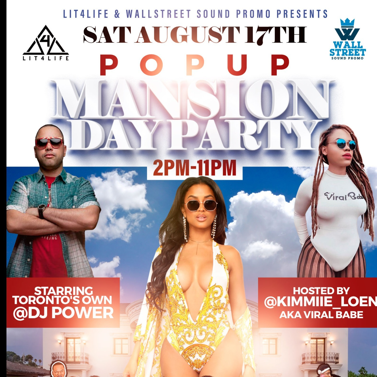 POPUP MANSION DAY PARTY