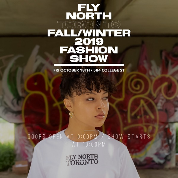 Fly North Toronto Fall - Winter - Fashion Show 2019