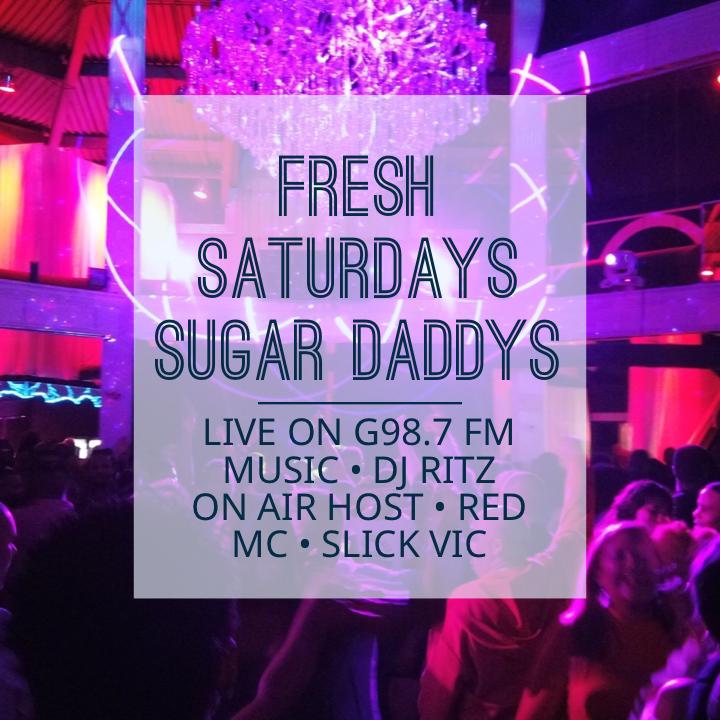 FRESH SATURDAYS LIVE G987 W/ DJ RITZ HOST SLICK VIC LADIES FREE B4 MIDNIGHT