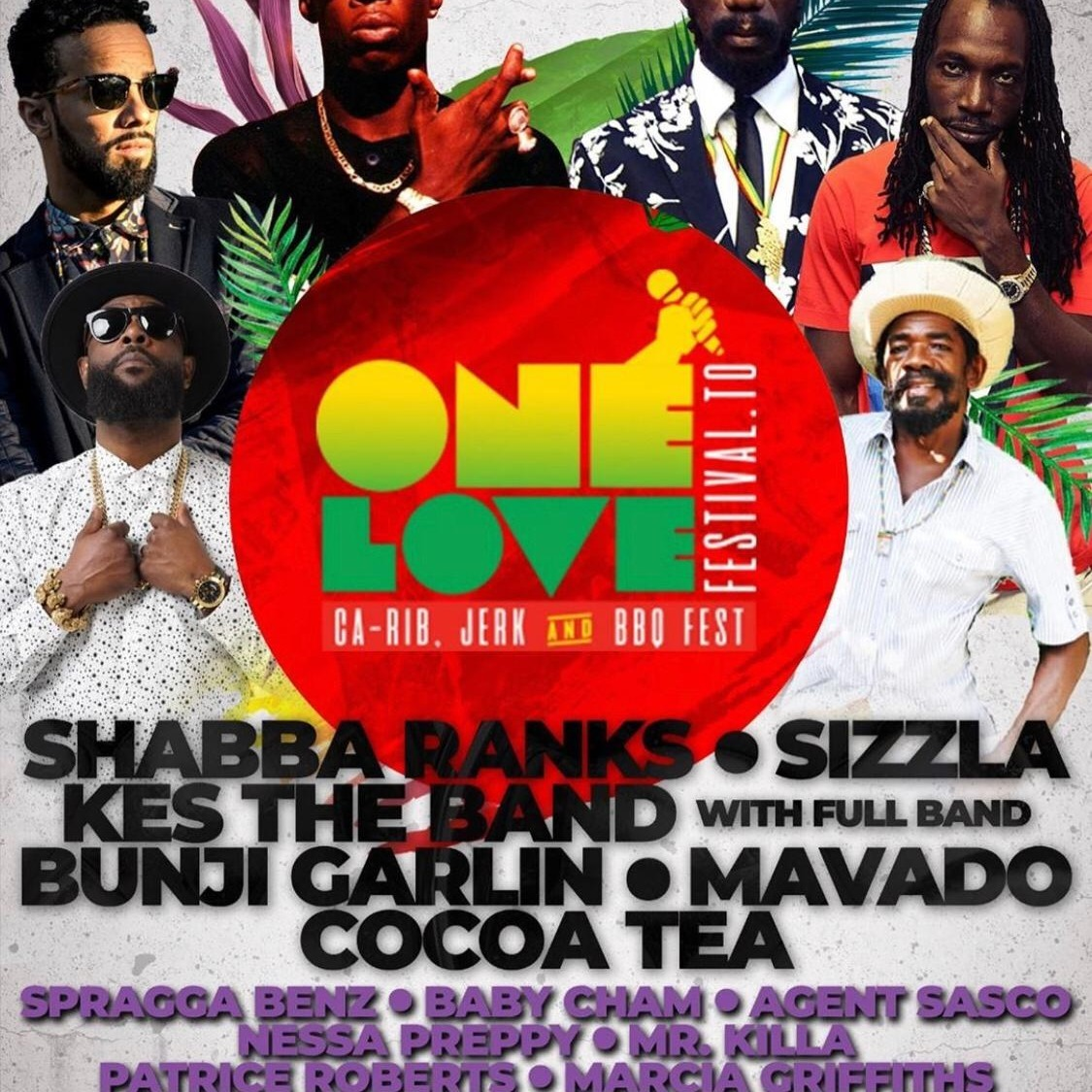 ONE LOVE FESTIVAL TORONTO - DAY 1 - LAUNCH & CANADIAN SHOWCASE