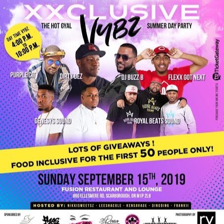 XXCLUSIVE VYBZ - THE HOT GYAL SUMMER DAY PARTY EDITION