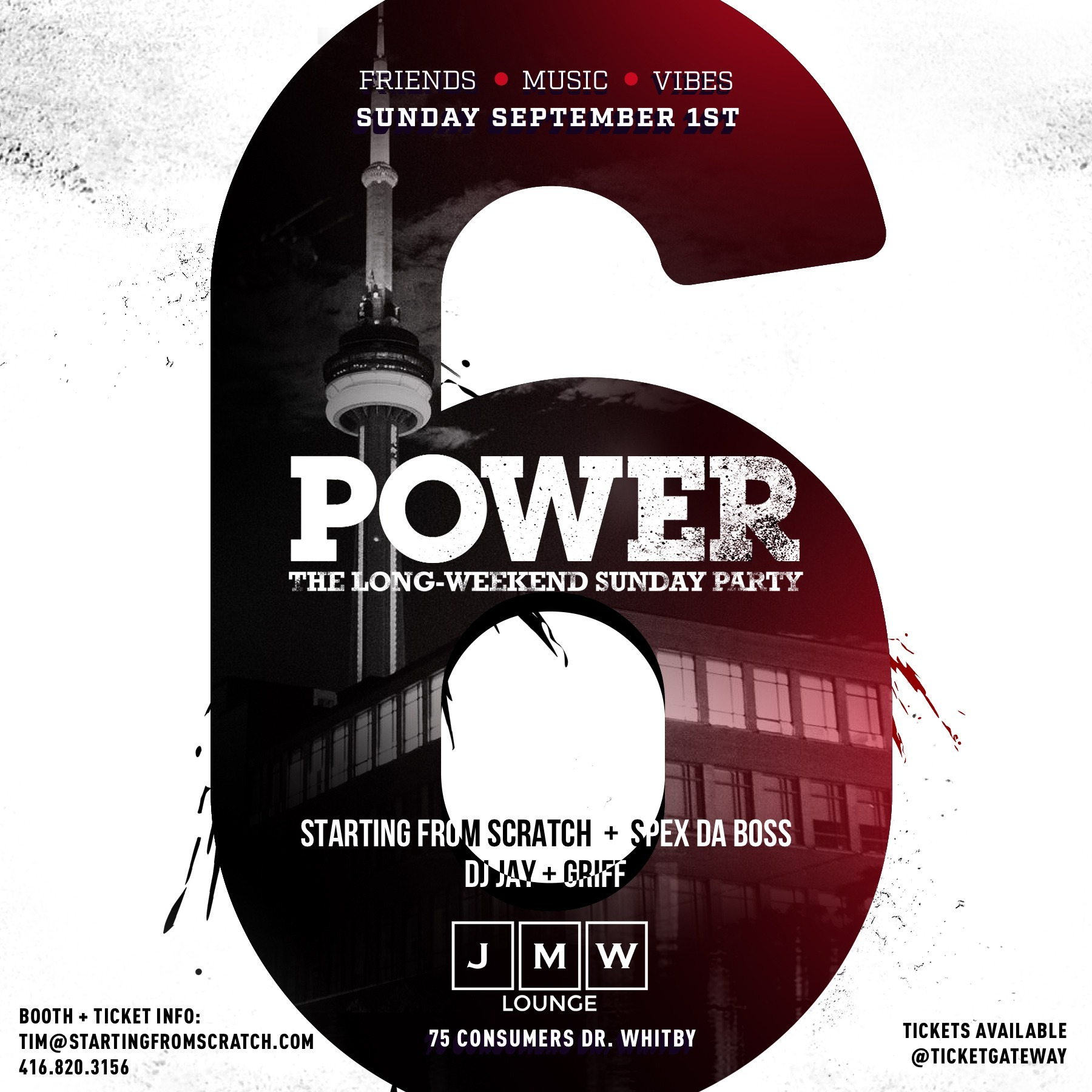 Power - The Sunday Long Weekend Party ( Sept 1 )