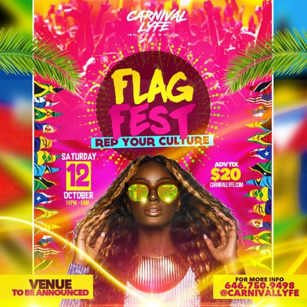 FLAG FEST - REP YUH CULTURE MIAMI CARNIVAL 2019 EDITION