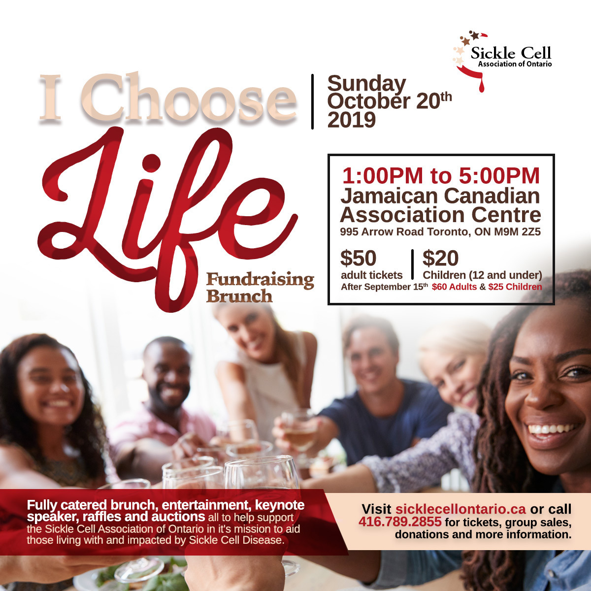 I Choose Life - Fundraising Brunch