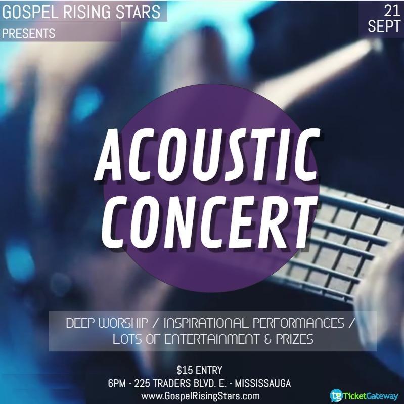 Gospel Acoustic Concert
