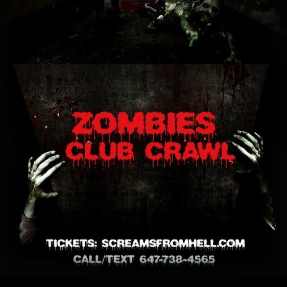 Zombies Club Crawl Toronto Halloween Party Event 2019 Friday Night