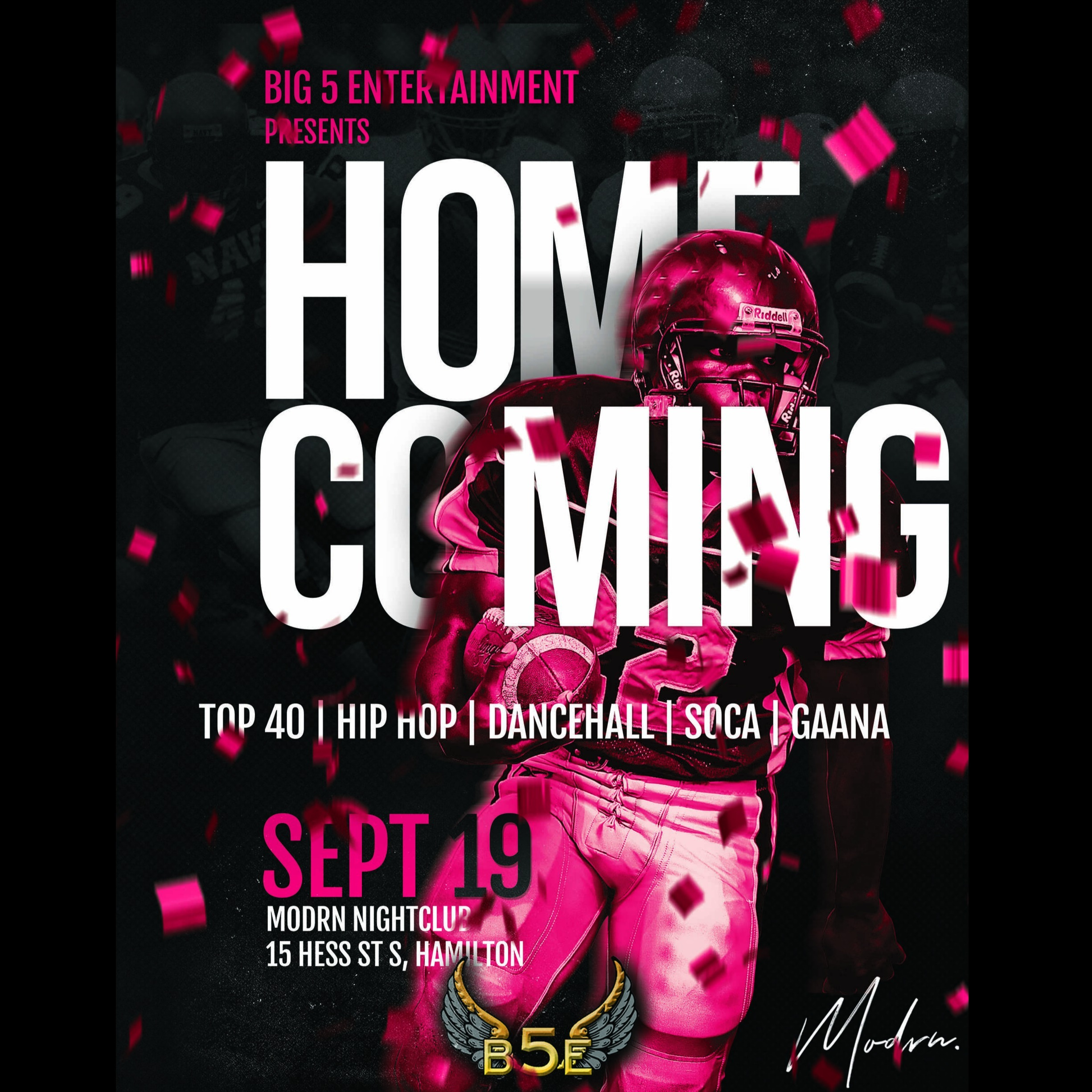 B5E Presents - Home Coming