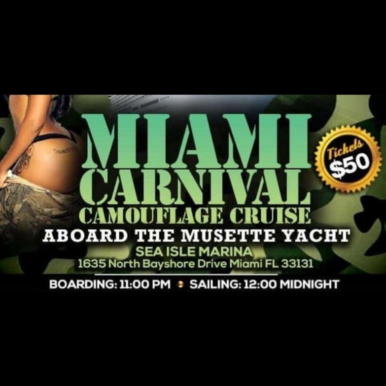 Camouflage Cruise Miami Carnival 2019 | Tickets 10 Oct