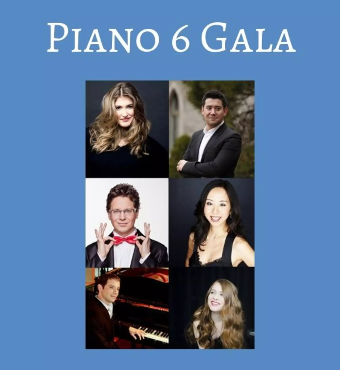 Music Toronto Piano 6 Gala  2019 | Tickets Tues 22 Oct