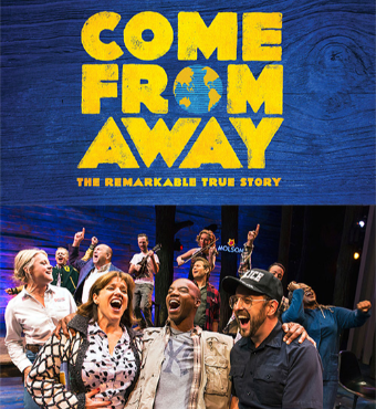 Come From Away Musical In Toronto 2019 | Tickets Tue 29 Oct