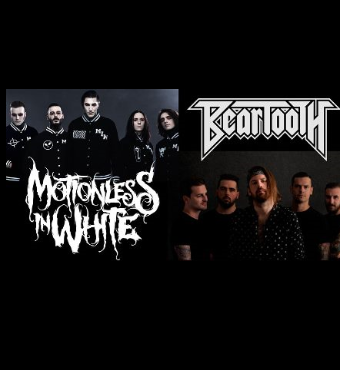 Motionless In White & Beartooth Concert In Toronto Tickets | 2020 Jan 19