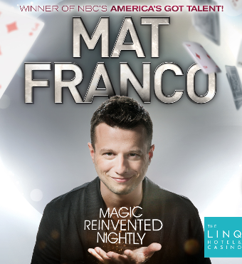 Mat Franco Show Las Vegas 2020 Tickets | The LINQ Hotel