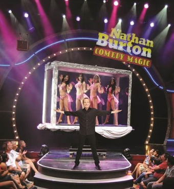 Nathan Burton Las Vegas Comedy Magic Show 2020 Tickets | Saxe Theater