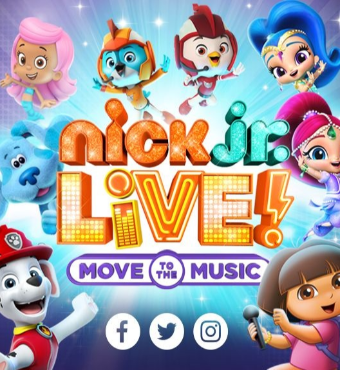 Nick Jr. Live! Move to the Music Toronto 2020 | Meridian Hall