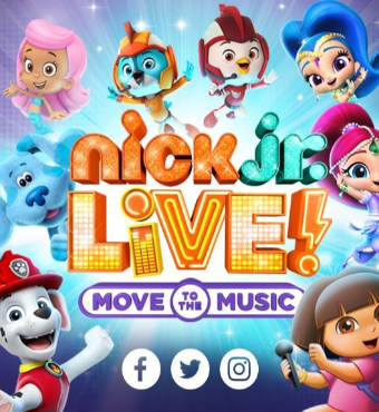 Nick Jr. Live! Move to the Music New York 2020 | Hulu Theater At MSG