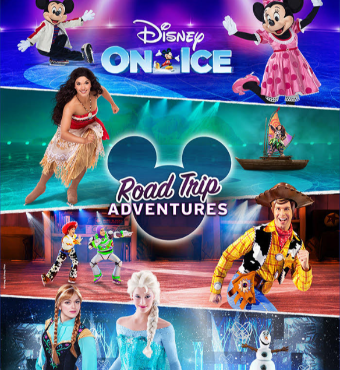 Disney On Ice Road Trip Adventures Dallas 2020 | American Airlines Center