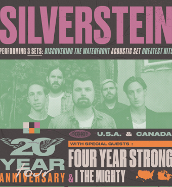 Silverstein, Four Year Strong & I The Mighty | Live in Toronto | Tickets
