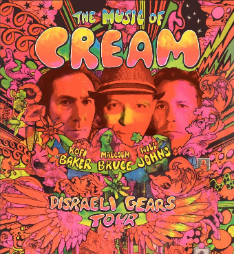 The Music of Cream | Live Concert | Tickets