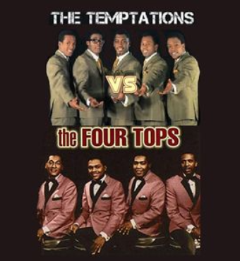 The Temptations & The Four Tops | Musical Show | Tickets