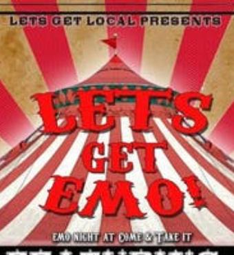 Let's Get Emo   Live Event   Tickets