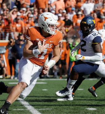 Texas Longhorns vs. West Virginia Mountaineers | Tickets
