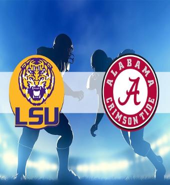 LSU Tigers vs. Alabama Crimson Tide | Ticket