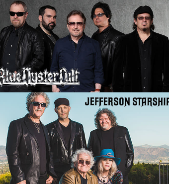 Blue Oyster Cult & Jefferson Starship  | Tickets