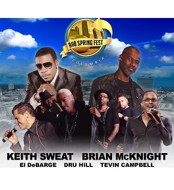R&B Spring Fest: Brian McKnight, Tevin Campbell & El DeBarge | Tickets