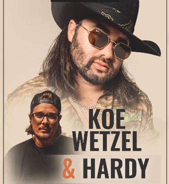 Koe Wetzel & Hardy | Live Event | Tickets