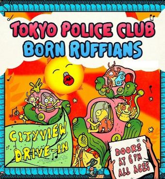 Tokyo Police Club & Born Ruffians | Live Event | Tickets