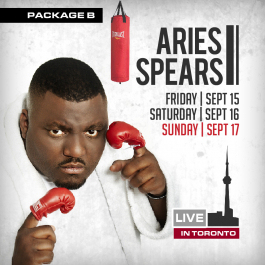 ARIES SPEARS - GROOVY PKG B (Soul Food Comedy Festival 2017)