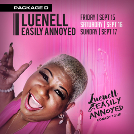 LUENELL - GROOVY PKG D (Soul Food Comedy Festival 2017)