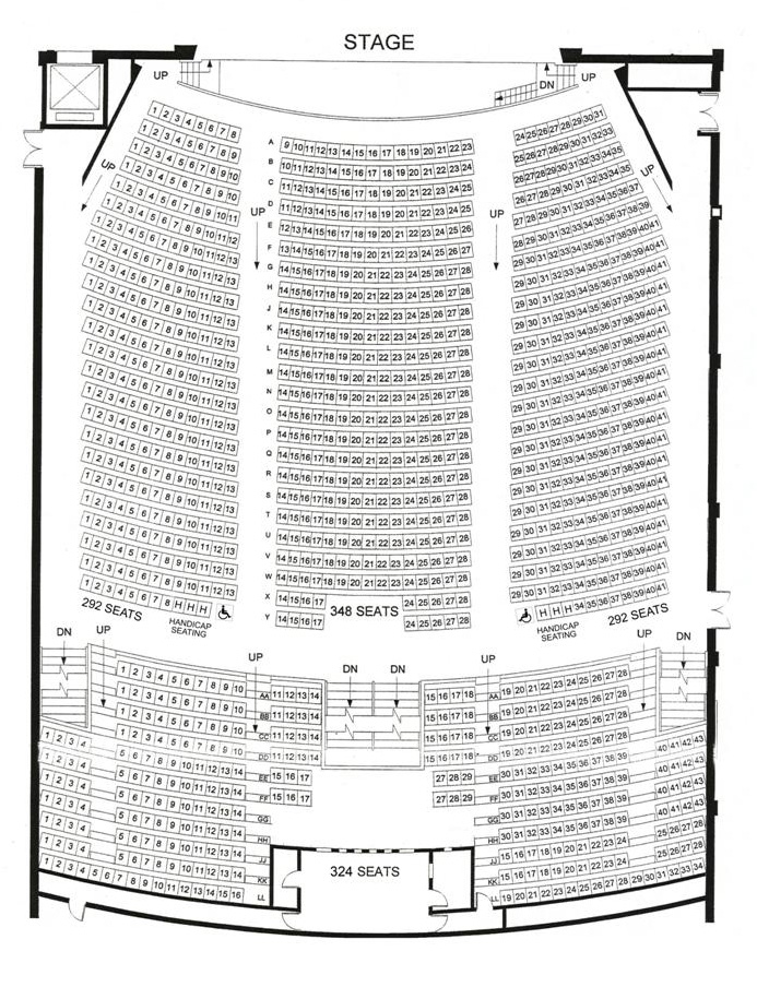queen elizabeth theatre toronto shows events seating. Black Bedroom Furniture Sets. Home Design Ideas