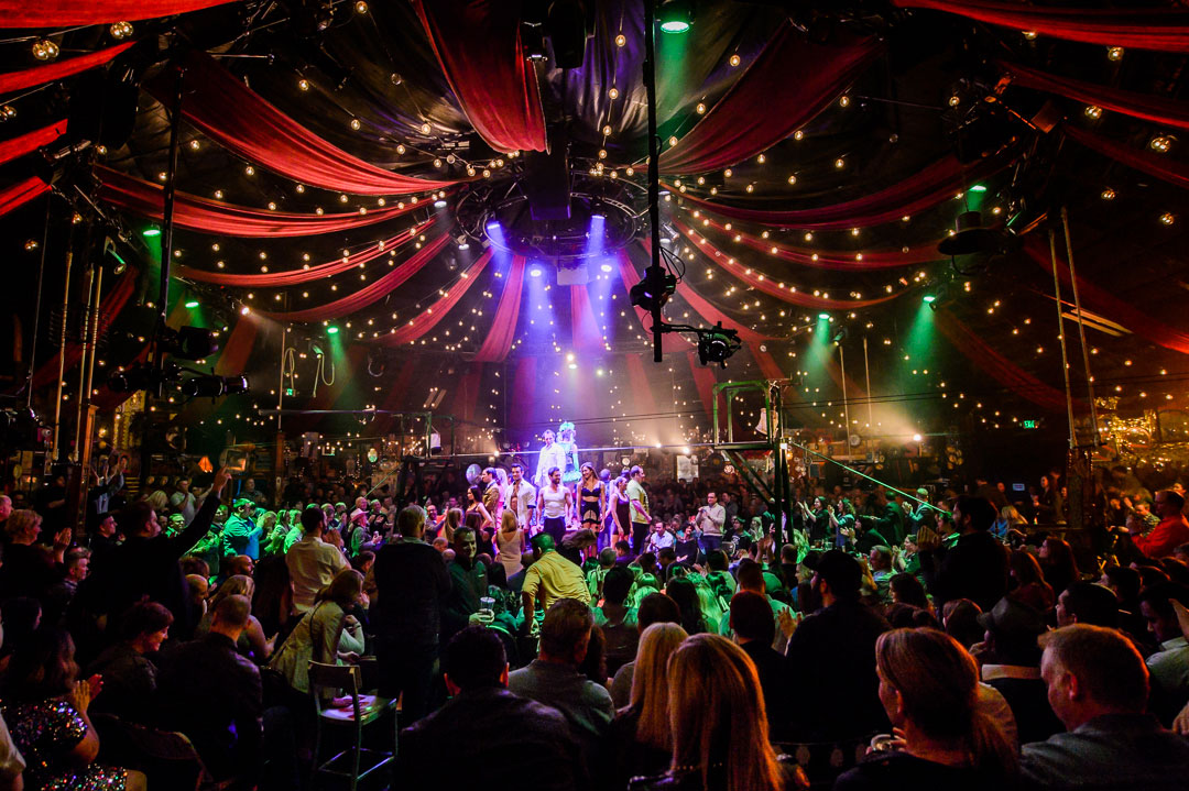 Spiegeltent At Caesars Palace