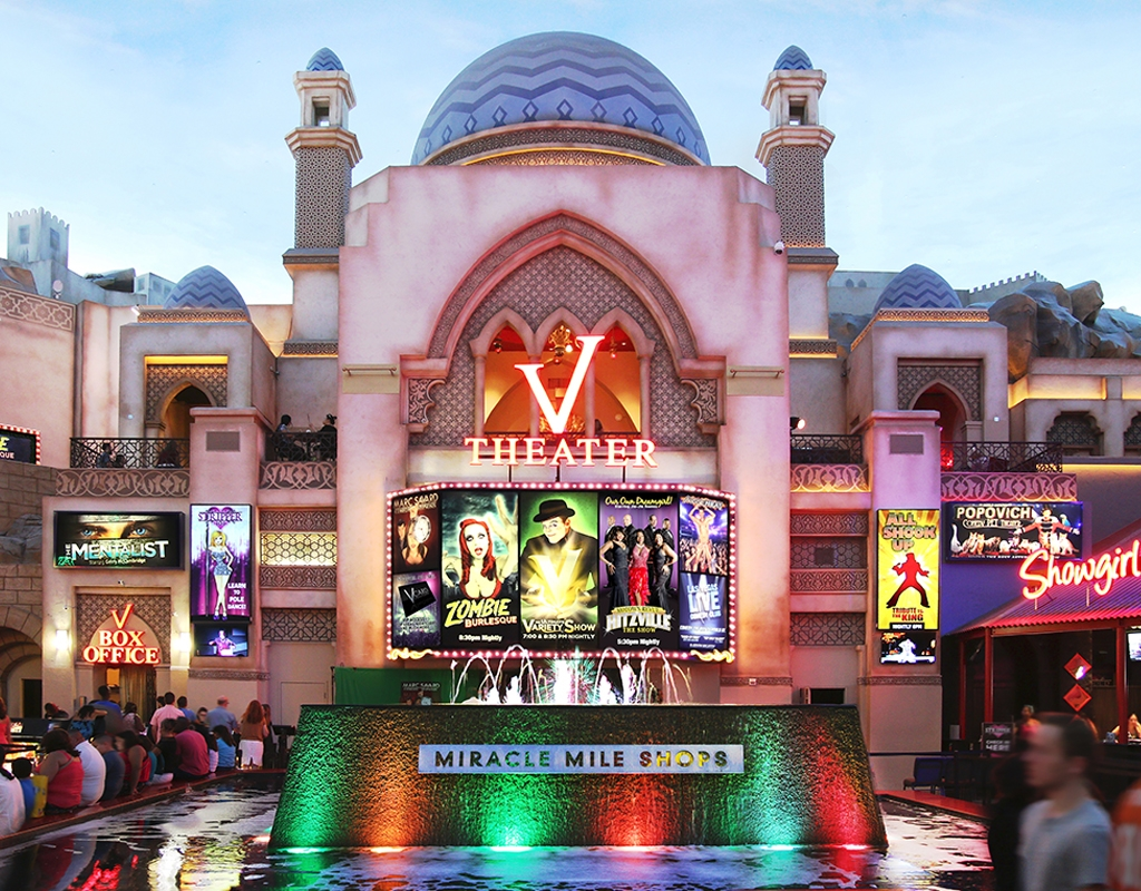 V1 Theater - Planet Hollywood Resort